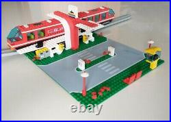 Vintage LEGO 6399 Monorail Airprt Shuttle incomplete with instructions, RARE