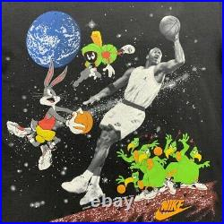 Vintage Nike T Shirt USA Rare Single Stitch Pre Space Jam 90s Jordan AOP Grail