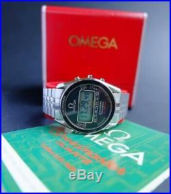 Vintage Omega Speedmaster LCD 186.004 Moonwatch Digital/quartz 1620 Watch Rare