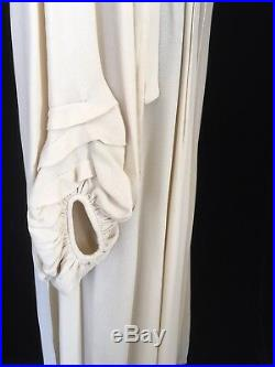 Vintage Ossie Clark Rare Quorum Moss Crepe Dress (size 8-10-12)