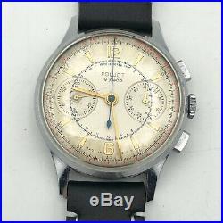 Vintage POLJOT Strela 3017 RARE Soviet Chronograph USSR Space Watch Leonov GIFT