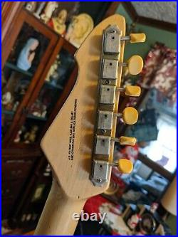 Vintage Peavey Mississippi Mustang T-15 Guitar Hard Case NO Amp Brown Rare