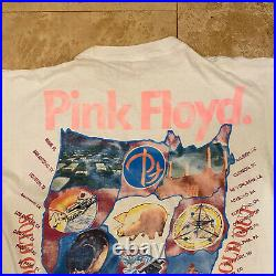 Vintage Pink Floyd Division Bell Tour T-Shirt 1994 Size XL Single Stitch RARE