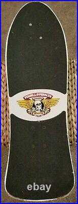 Vintage Powell Peralta Ray Barbee Skateboard Deck 1989 Rare Used