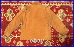 Vintage Rare 1940s Carhartt Work Jacket Blanket Lining Brown Union-Made