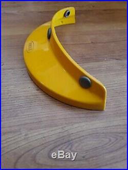 Vintage Rare Bell Helmet Visor Yellow 520 Magnum Star Ltd