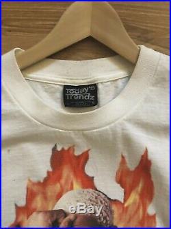 Vintage Rare Dennis Rodman XL Single Stitch T Shirt