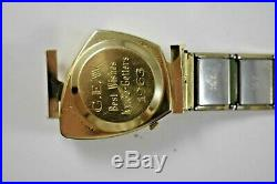 Vintage Rare Hamilton Altair Electric 10KGF Case Mens Wrist Watch Working lot