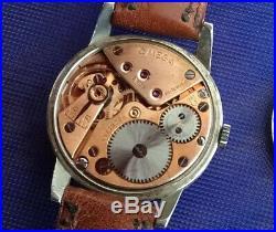 Vintage Rare Omega Calatrava 1947 All Original. Rare Dial
