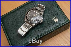 Vintage Rare Rolex 5513 Submariner from 1968 collectable