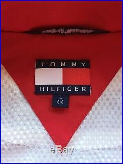 Vintage Rare Tommy Hilfiger Windbreaker Jacket Big Logo Urban Supreme Kith Lotus