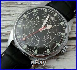 Vintage Russian USSR Wrist Watch Mechanical Rare Men's Military Air Force Soviet