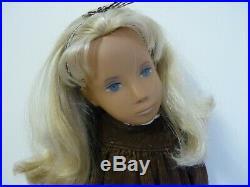 Vintage Sasha Doll Rare No Philtrum NP Blonde 60's 1966/67 Original Wide dress
