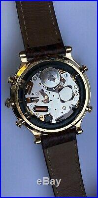Vintage Seiko 6M13-0010 Seiko Quartz Perpetual Calendar Stainless steel RARE