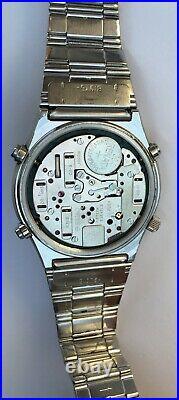 Vintage Seiko 7A28-701A Chronograph Quartz Tachymeter 15 Jewels RARE Seiko RARE