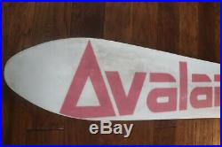 Vintage Super Rare Avalanche Damian Sanders Freestyle Pro Model Snowboard