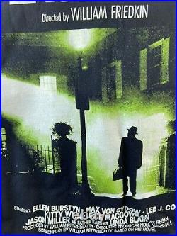 Vintage The Exorcist Horror Shirt Tee Movie Promo 90s XL Rare Halloween Grail