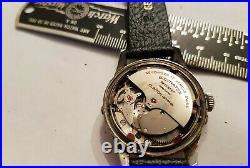 Vintage Triple Date Moonphase Watch 1950s Rare Automatic Clinton Crescent