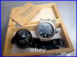 Vintage USSR Deep Diver Military Watch with Compass. Rare