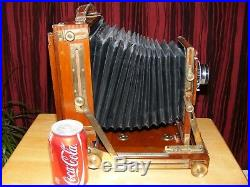 Vintage antique camera. Gandolfi. Large, very rare. Good display item, not tested
