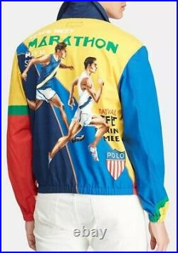 Vintage polo ralph lauren stadium p wing 1992 ski rare Marathon jacket size XXL