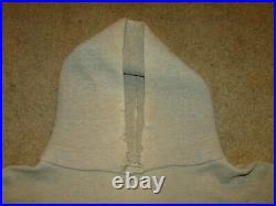Vintage rare Hoodie Sweatshirt L 4D uss-56C 60s Sz M