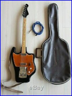 Vintage soviet electric guitar Tonika Rostov USSR 70s rare