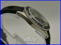 Vintage watch mens YEMA SKIN DIVER plongee 330 feet Steel Pre superman RARE 38mm