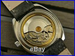 Vintage watch mens YEMA diver Automatic FE 3611 RARE steel big size 40mm mint