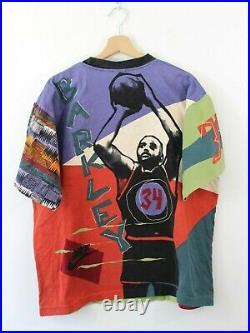 Vtg NIKE 90s Men Charles Barkley Basketball T-Shirt Tee Oldschool Rare Retro XL