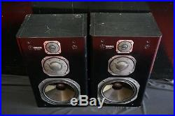 Yamaha NS-1000x Rare Vintage Monitor Speaker Set With Grilles