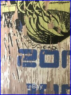 Zorlac skateboard Complete RARE Vintage Pushead